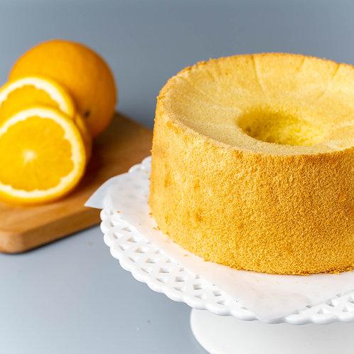"""Naked ZESTY Orange Chiffon Cake 7"""""""