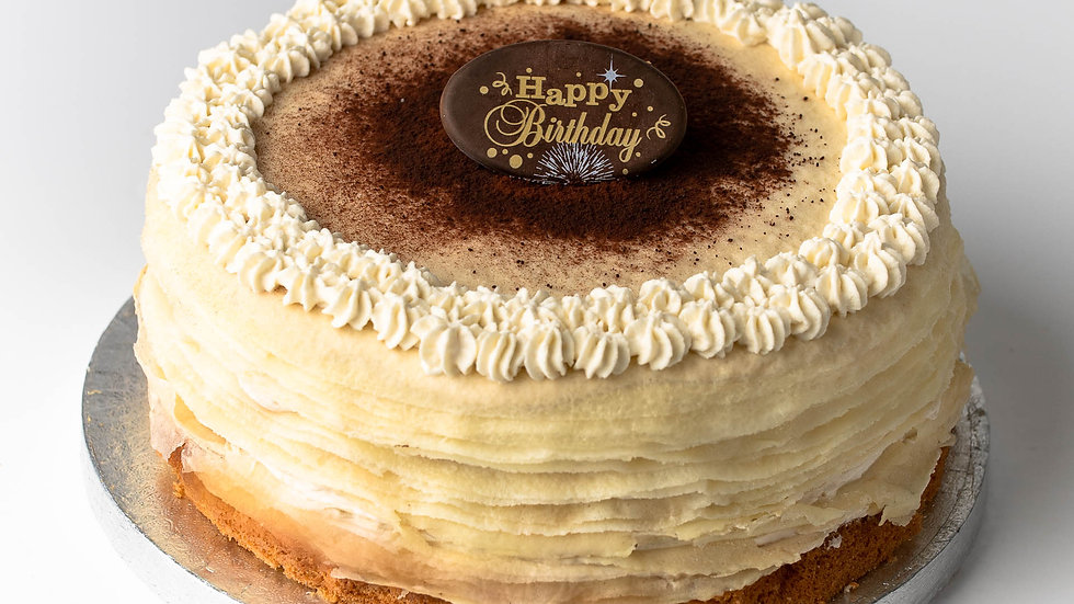 BAILEYS ESPRESSO CREPE CAKE