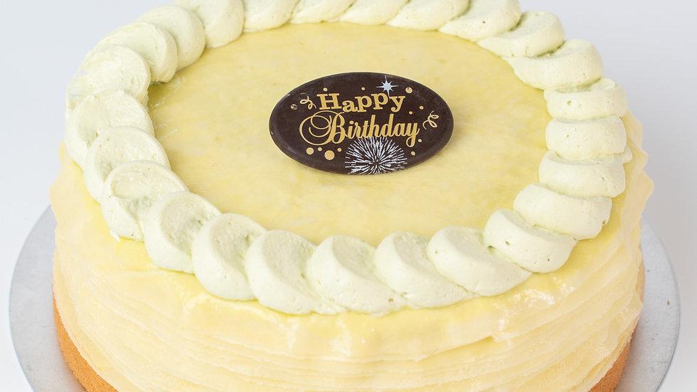 PISTACHIO CREPE CAKE