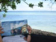 open water theory book anda scuba diving