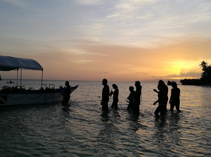 Advanced Open Water Night Dive Anda Scuba Diving