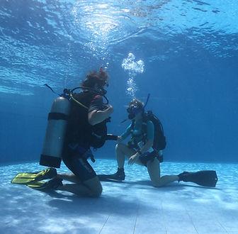 anda scuba diving open water