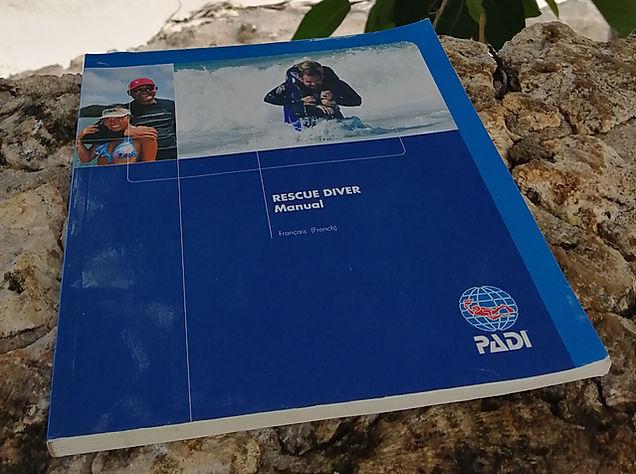 Rescue Diver Theory book Anda Scuba Diving