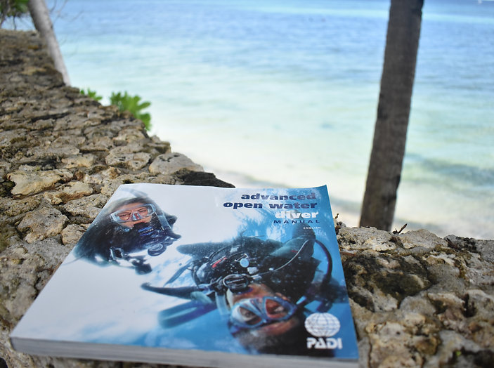 Advanced Open Water theory book Anda Scuba Diving