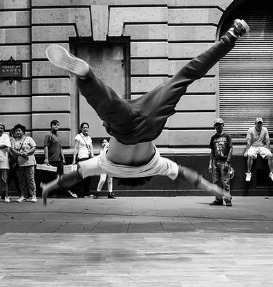 Ballerino di Street Break