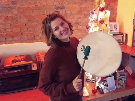In mijn cirkels gebruik ik een drum!