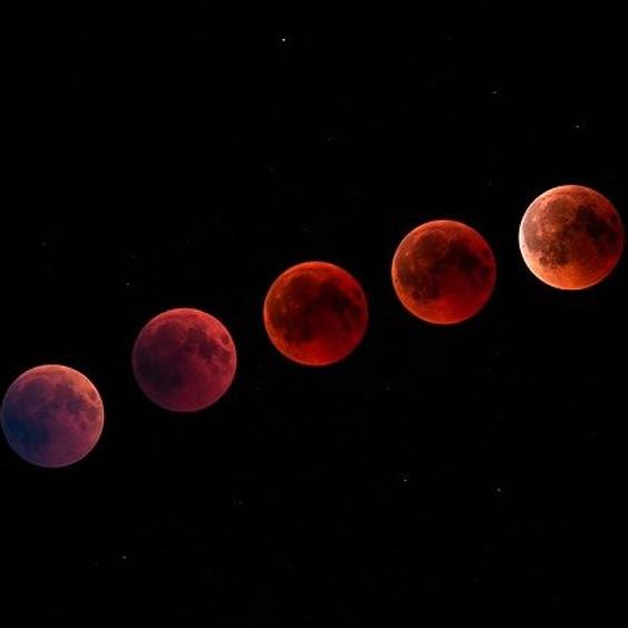Fysieke volle maan vrouwencirkel