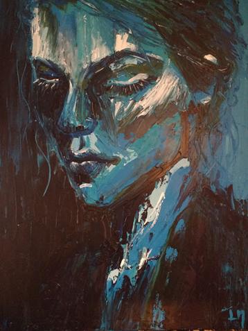 Lydia Maertens Kunstwerk Portret Vrouw