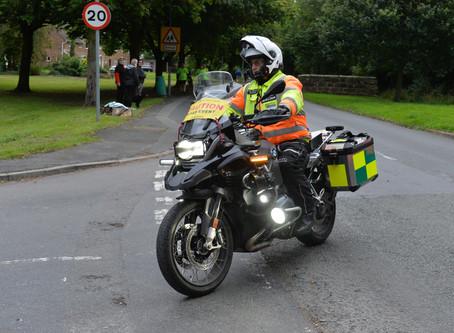 Busy Bike Marshals!
