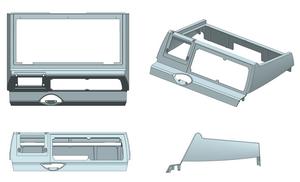 【技術電子報】應用FLOW-3D Cast 於金屬高壓鑄造件之產品設計與模具設計評估