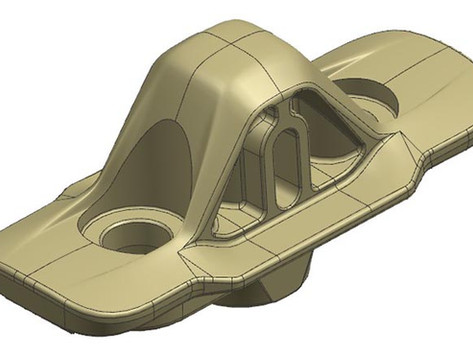 【技術電子報】應用 FLOW-3D(x)於鋁壓鑄件之流道設計最佳化