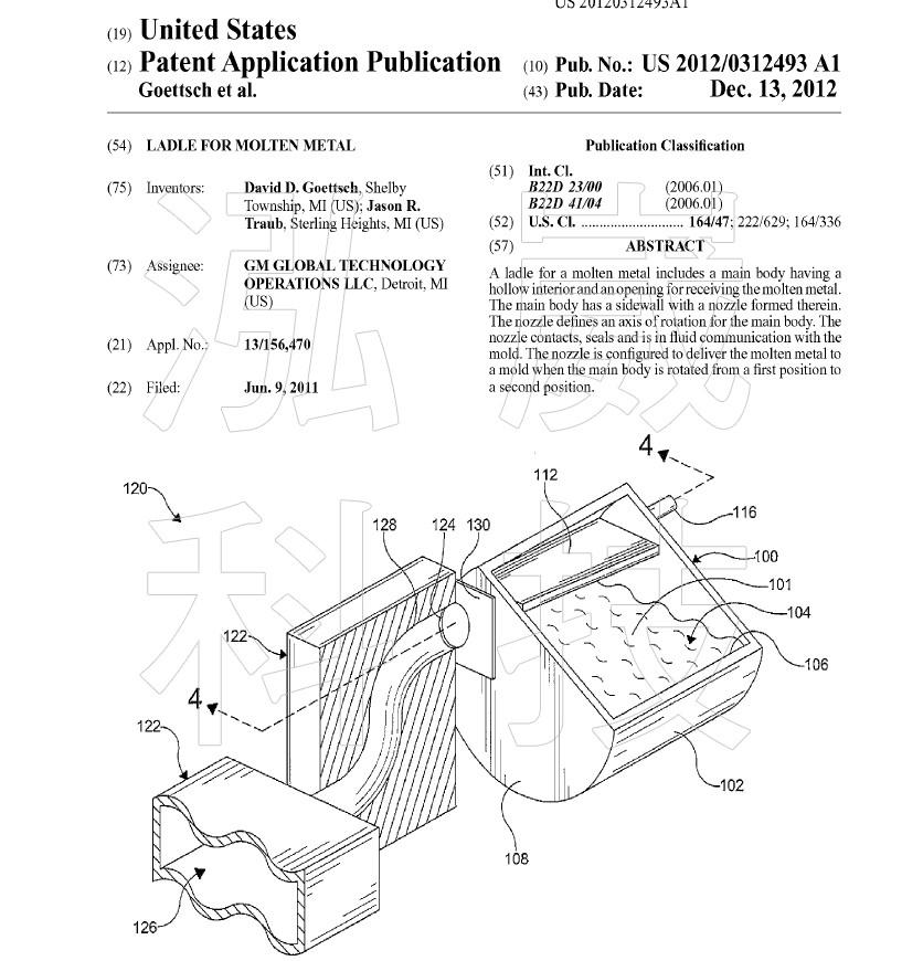 圖3.傾斜鑄造專利