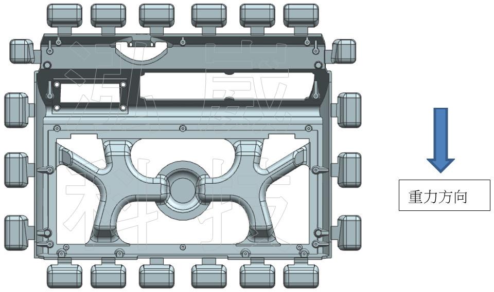 圖3-1.澆注系統設計