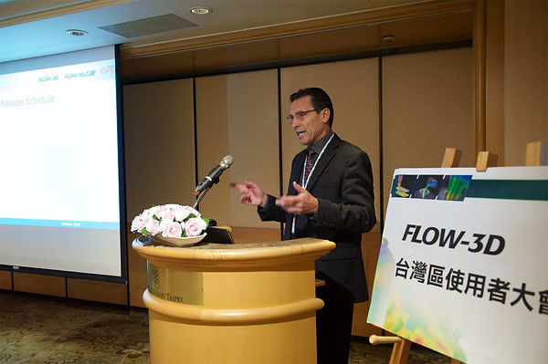 FLOW SCIENCE 總裁Mr. Thomas Jensen