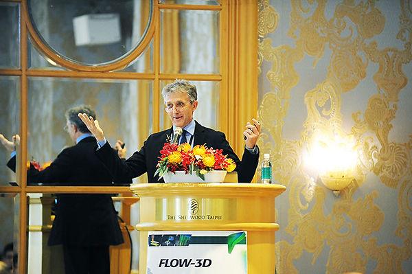 FLOW SCIENCE 副總裁Dr. Michael Barkhudarov