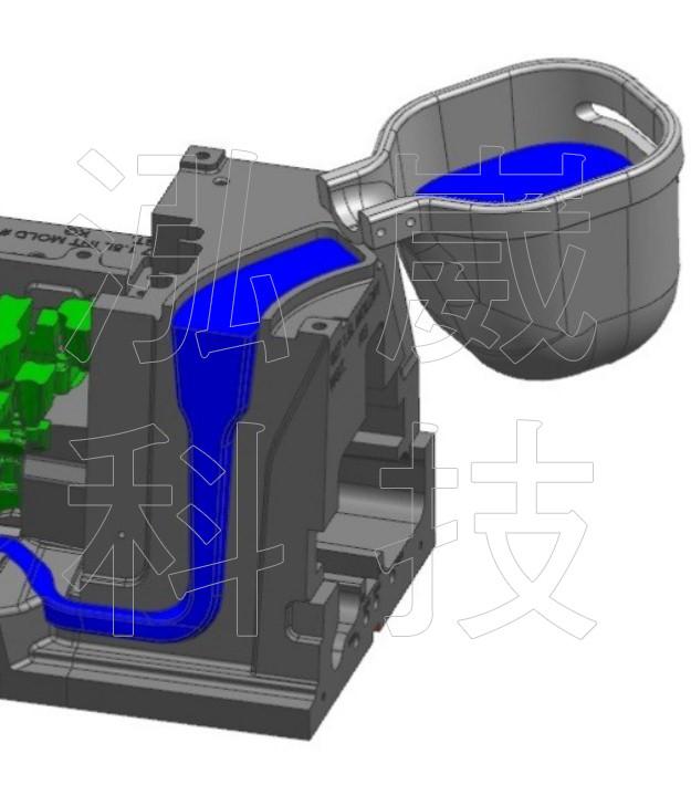 圖4.數值仿真採用之3D圖檔
