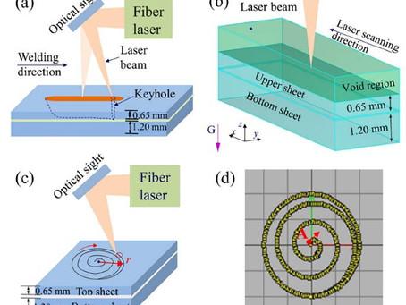 【技術電子報】鍍鋅鋼板於雷射螺旋焊接時發生的飛濺現象研究