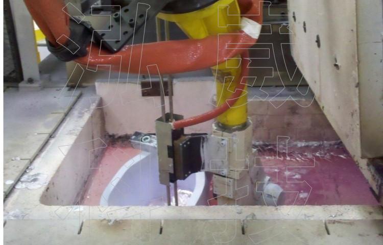 圖2.傳統傾斜鑄造製程