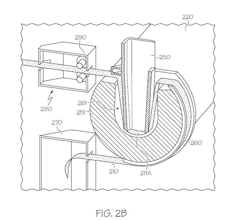 圖3 具有自動換濾網的湯杓