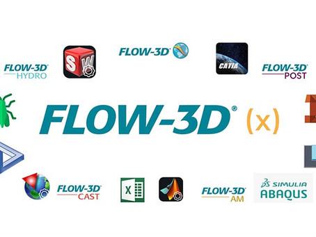 【技術電子報】FLOW-3D(X) 新一代的 CFD 操作模式