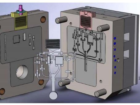 【技術電子報】利用FLOW-3D進行多模穴的流道設計