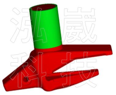 圖1 模擬中使用的鑄件
