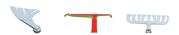 圖2.流道方案設計