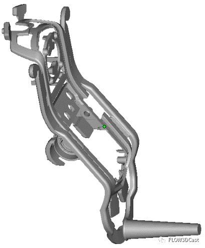 圖2 澆注系統