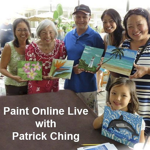 Custom Private Online Art Classes with Patrick Ching