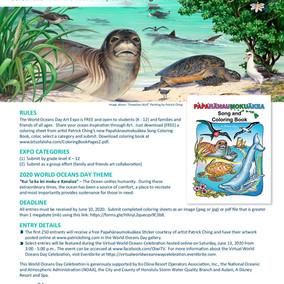 World Oceans Day Art Expo 2020