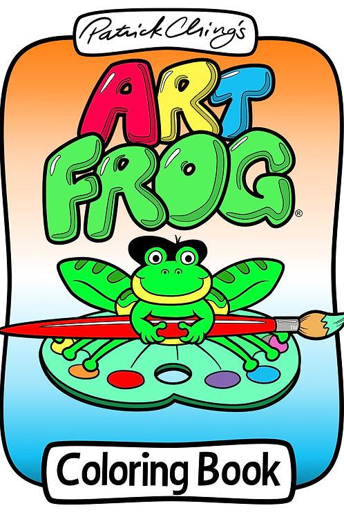 Art Frog Coloring Book