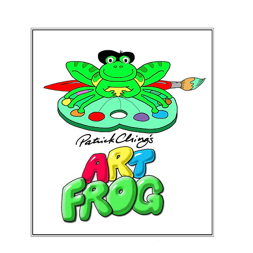 ART FROG 11x14 First Edition Matted Print