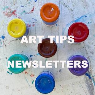 Art Tips Newsletter