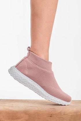 Zapatillas rosa viejo