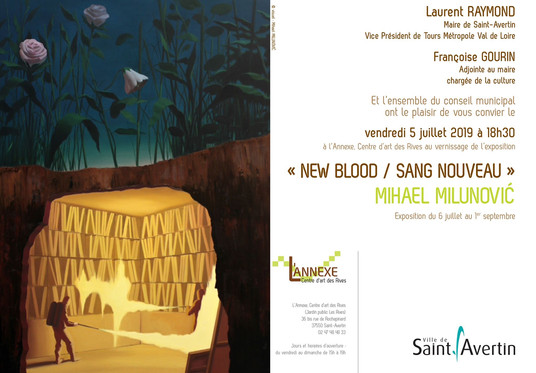 EXHIBITION NEW BLOOD SAINT AVERTIN