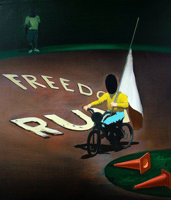 """""""Freedom Run"""" for Art Athina Art Fair with Alpha Delta Gallery, Athens"""