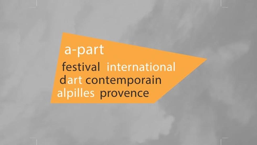 Artist portrait for the A-Part, International contemporary art festival, Baux de Provence, France