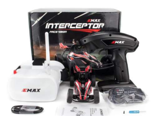 Interceptor RaceVision FPV RC Car - RTR