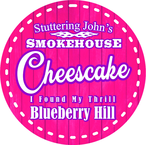 Blueberry Hill Cheesecake Jar