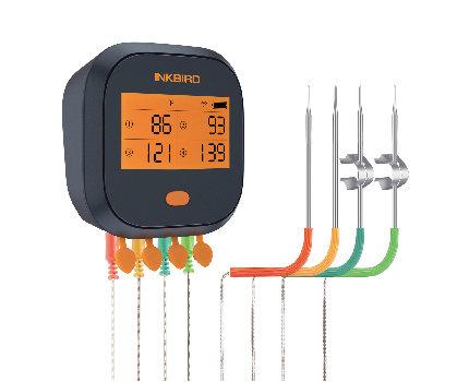 IBBQ-4T  WiFi Rainproof Grill Thermometer