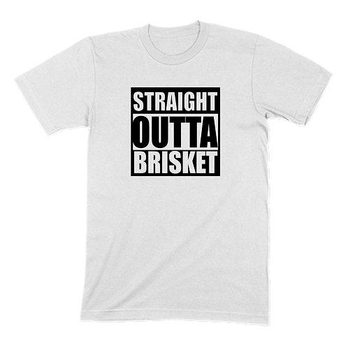 Straight Outta Brisket BBQ T-shirt