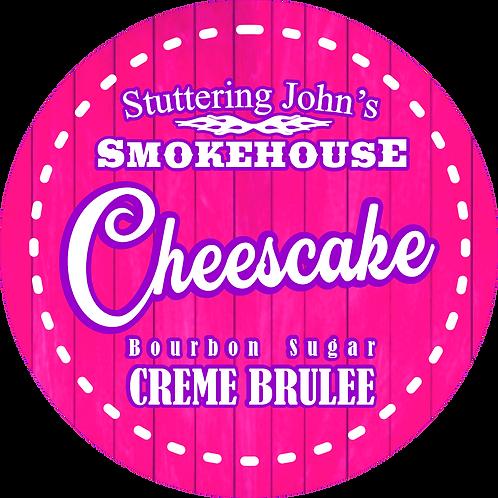 Bourbon Sugar Crème Brulee Cheesecake Jar