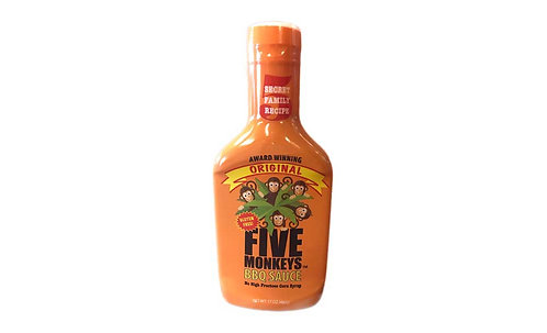 Original Five Monkeys BBQ Sauce