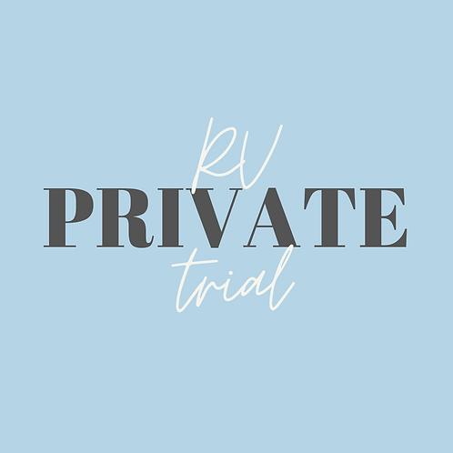 RV Private Trial