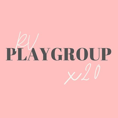RV Playgroup x20