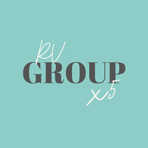 RV Group x5 (Valid for 6 weeks)