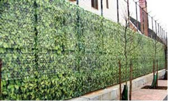 Country Hedge printed fence fabric