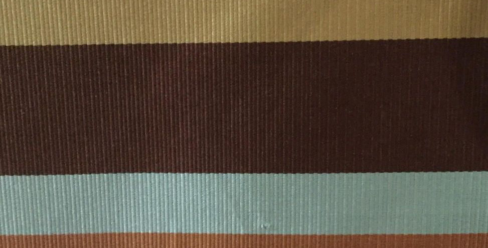 Multicolored Stripe Fabric