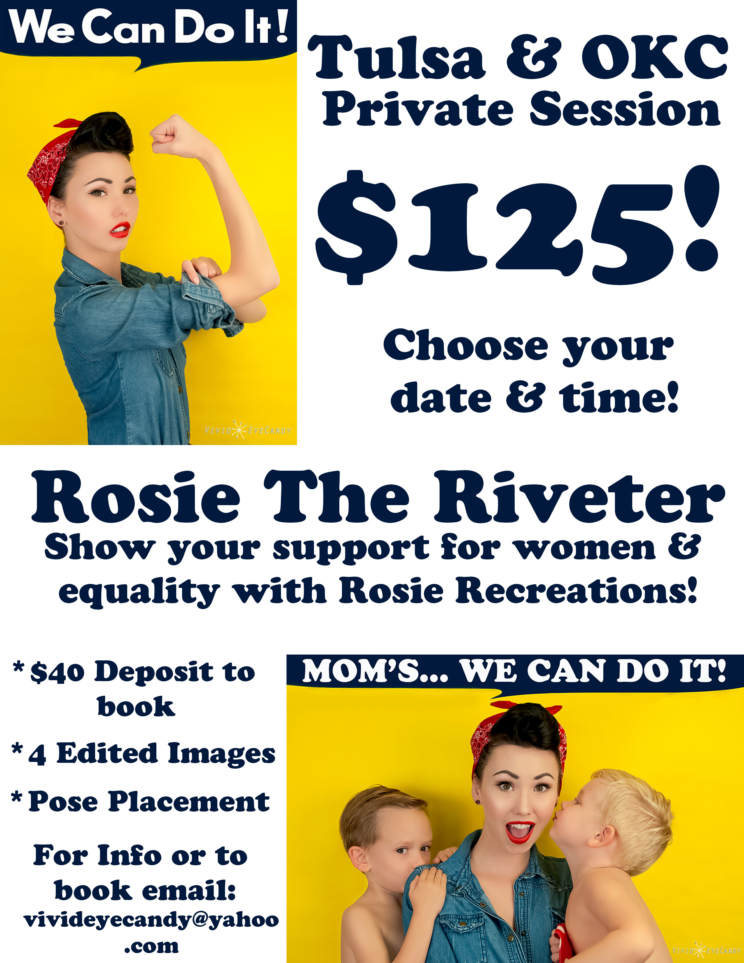 Rosie the Riveter Session