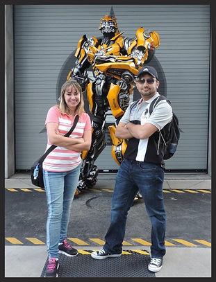 Transformers na Universal Studios